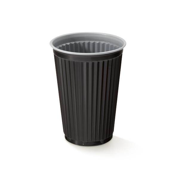 Plastic koffiebekers