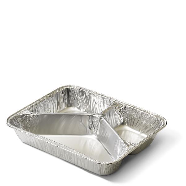 Aluminium Menuschalen