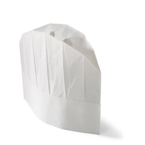 Papieren koksmutsen